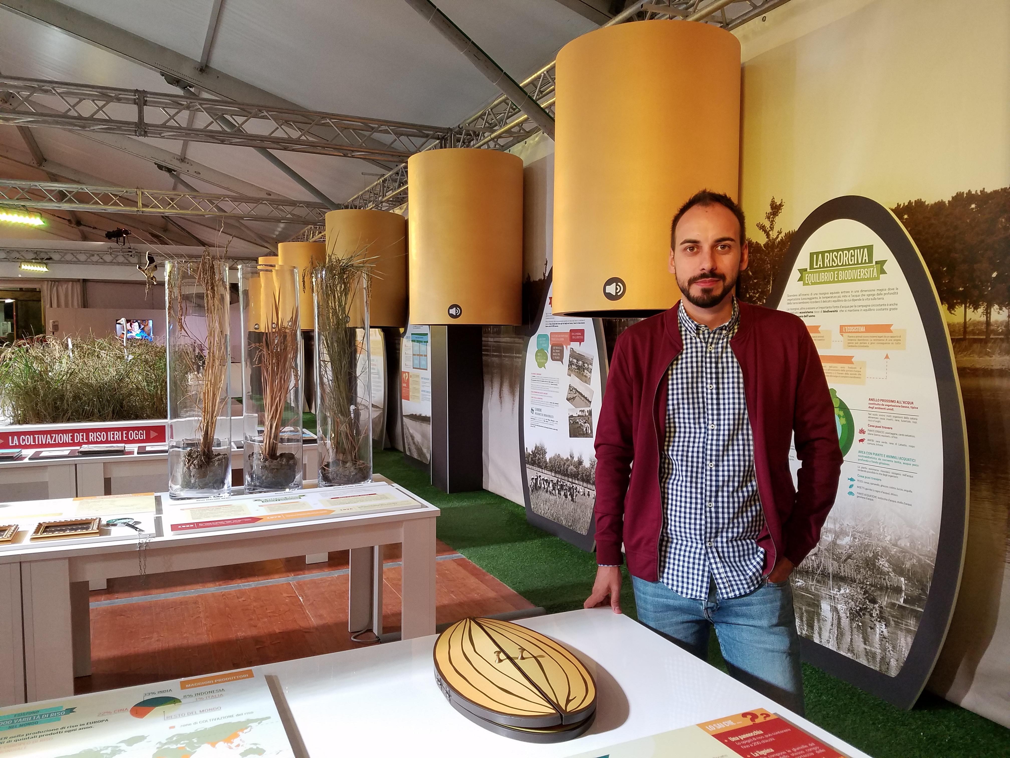 Curator Davide Mantovani