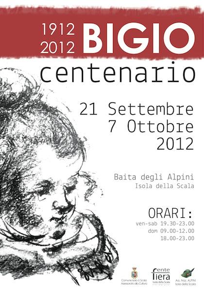 Manifesto Bigio Centenario