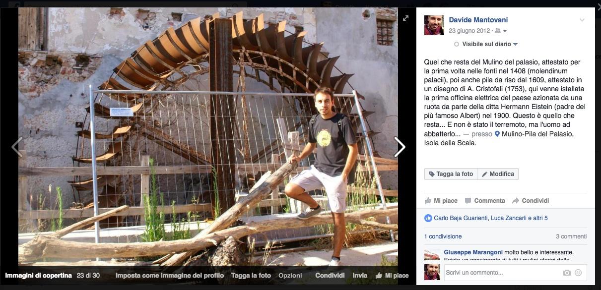Mulino e pila del Palasio Davide Mantovani